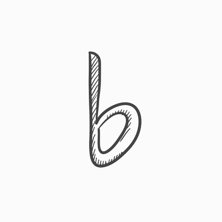 melodies: Musical note vector sketch icon isolated on background. Hand drawn Musical note icon. Musical note sketch icon for infographic, website or app.