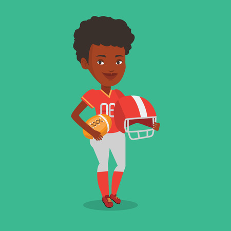 rugby player: Rugby player vector illustration. Illustration