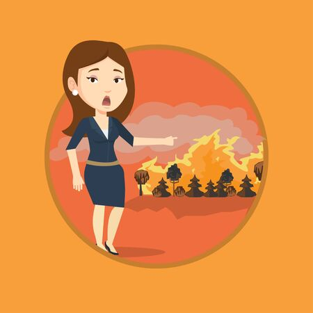 wildfire: Woman standing   wildfire.