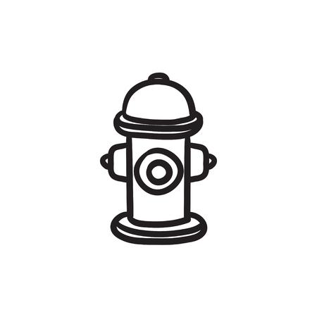 소화 전 벡터 스케치 아이콘 배경에 고립. 손으로 그린 소화 전 아이콘입니다. infographic, 웹 사이트 또는 응용 프로그램에 대 한 소화 전 스케치 아