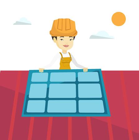 Costruttore installazione di pannelli solari.