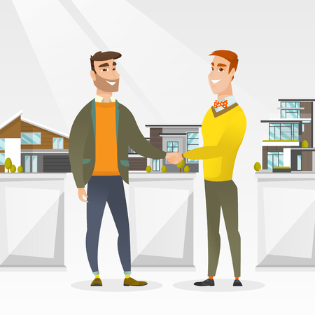 agree: Agreement between real estate agent and buyer.