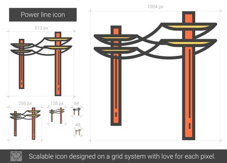 Power line icon.