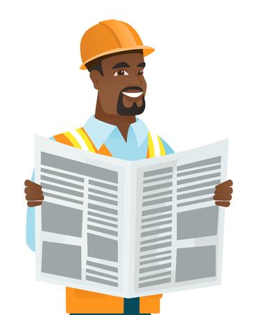 アフリカ系アメリカ人ビルダー読書新聞。