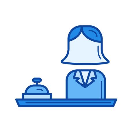 Reception line icon