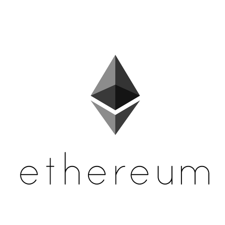 Ethereum coin symbol logo. Crypto currency ethereum symbol isolated on transparent background. Realistic vector illustration.