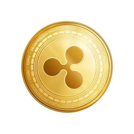 Golden coin icon. Imagens - 92137497