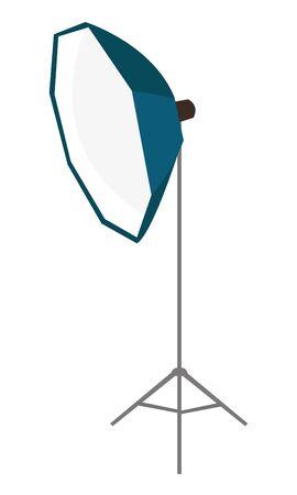 Verlichtingsapparatuur vector cartoon illustratie geïsoleerd op een witte achtergrond.