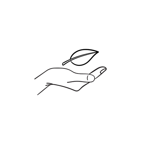 Environment protection hand drawn outline doodle icon. Sketch icon for ecology design. Environment care vector illustration for print, web, mobile and infographics isolated on white background.