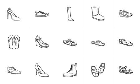 Platform Heels Vettoriali, Illustrazioni E Clipart