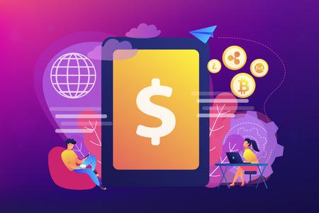 cryptocurrency e money