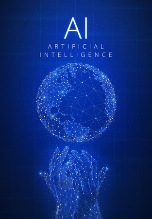 Blockchain technology artificial intelligence and cyber space co