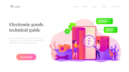 User guide landing page template.