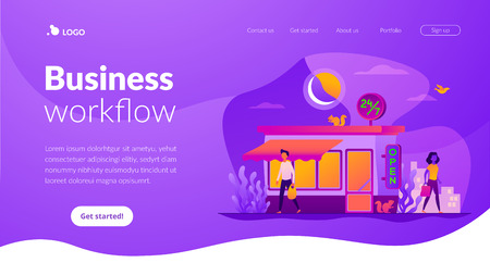 24 7 service landing page template.