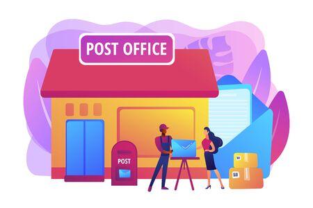 Post office concept vector illustration Векторная Иллюстрация