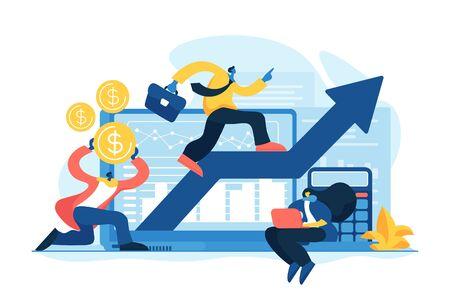 Demand planning concept vector illustration