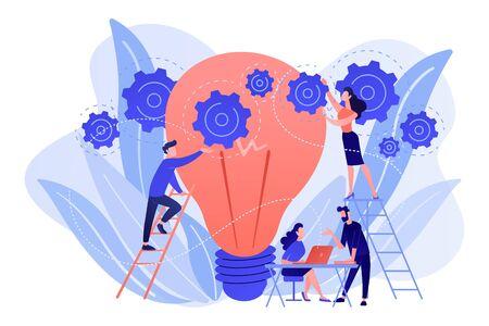 New idea engineering concept vector illustration.
