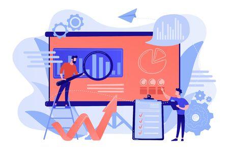 Risk management concept vector illustration. 版權商用圖片 - 131609748
