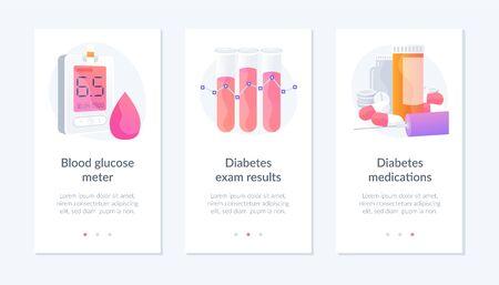 Diabetes webpage template.