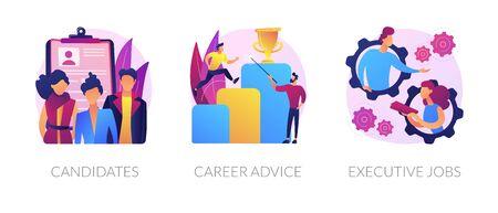 Careers vector concept metaphors.