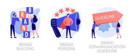 Brand awareness vector concept metaphors. Ilustração