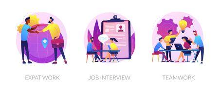 Recruitment vector concept metaphors