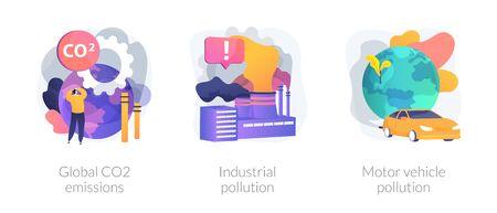 Polluting energy vector concept metaphors