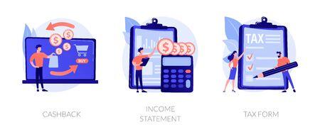 Banking documentation vector concept metaphors