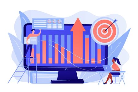 Business Intelligence concept vector illustration.