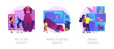 Pet maintenance vector concept metaphors