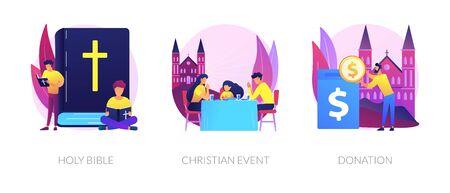 Christianity vector concept metaphors