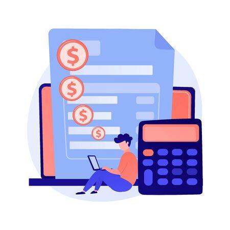Online payment vector concept metaphor