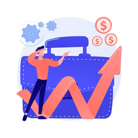 Business opportunity vector concept metaphor Ilustração