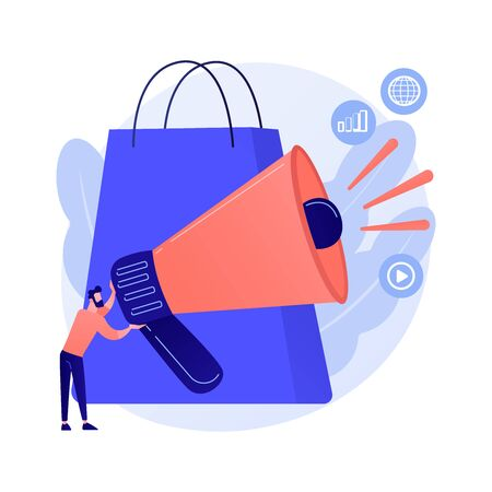 Application purchase vector concept metaphor. Illusztráció