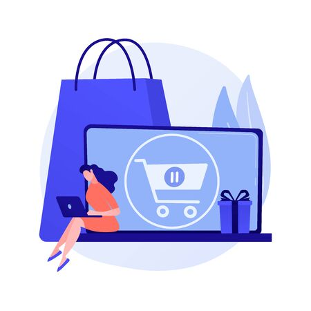 Purchases suspension vector concept metaphor.