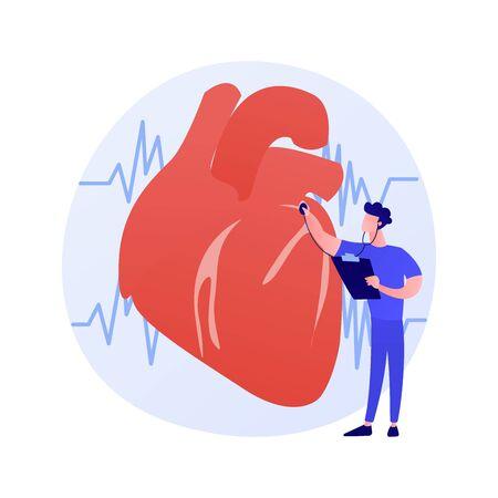 Cardiology clinic vector concept metaphor