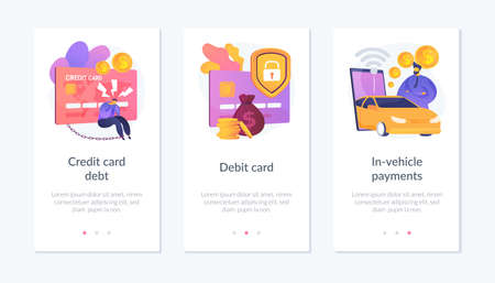 Payment method webpage template.