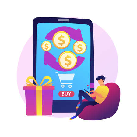 Mobile banking vector concept metaphor