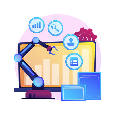 Online business development vector concept metaphor.