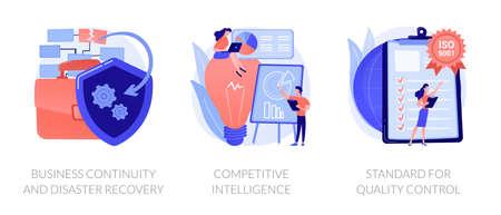 Business development vector concept metaphors.