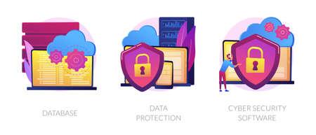 Data protection metaphors set