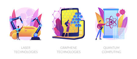 Technological innovation vector concept metaphors