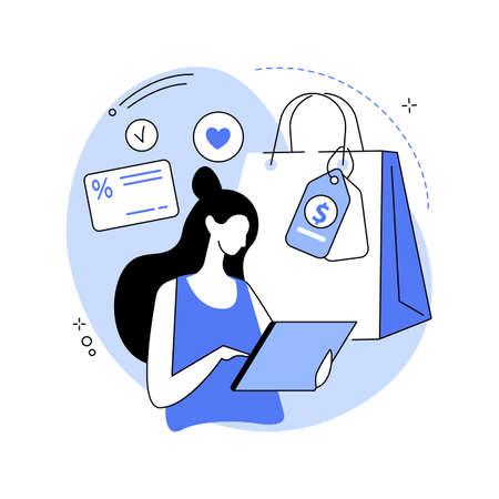 Consumer motivation abstract concept vector illustration.