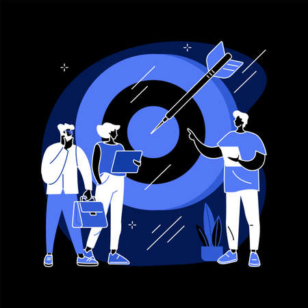 Internal marketing abstract concept vector illustration.