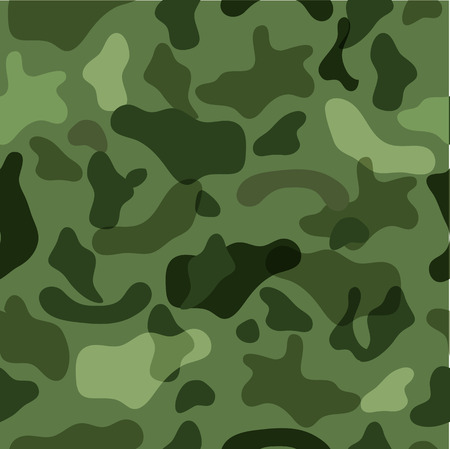 Sample seamless camouflage in the colors of the forest for your design