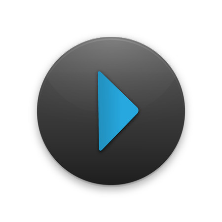 playback: Black Button with the play icon for your project