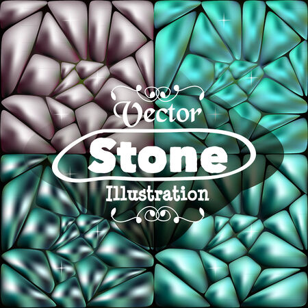 Stone blue background for your ideas Vector