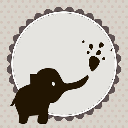 smart card: Smart card with an elephant  ?