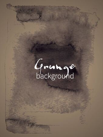 realization: Watercolor design element grunge background for the realization of your best ideas.