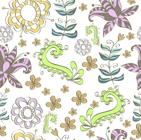 polygraphy: Floral design in a tender colors for your website design, fabric, paper, Polygraphy.